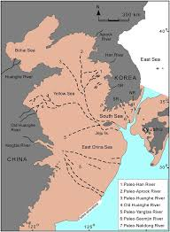 Yellow River On World Map by Paleo Geography Map At The Lgm Of The Yellow Sea And East