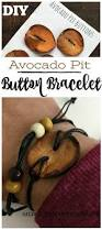 diy avocado pit button bracelet summer camp crafts craft night