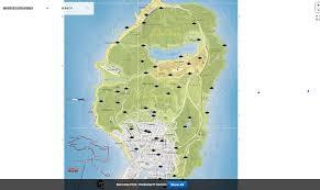 Gta 5 Map Gta V Interactive Map All Locations Marked