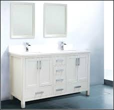 60 bathroom vanity double sink white inch bathroom vanity double