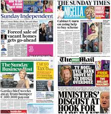 de sunday papers broadsheet ie