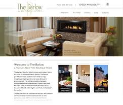 website to design a room bed and breakfast website design insideout solutions