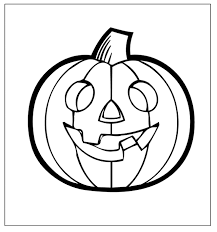 pictures color kids pumpkin coloring pages kids
