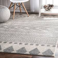 Modern Grey Rug Nuloom Modern Stripes Faded Grey Rug 5 X7 5 Free Shipping