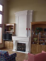 fireplace stone installation