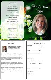 funeral program ideas template sle brochure template microsoft word