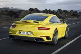 porsche yellow bird 2016 porsche 911 turbo revealed