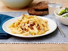 Pasta Sausage Pasta With Pumpkin And Sausage Recipe Rachael Ray Food Network