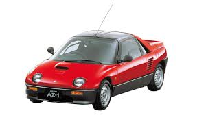 autozam az 1 check out one of the smallest cars to feature gullwing doors