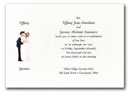 Unique Wedding Invitation Wording Funny Wedding Invitation Wording From Bride And Groom Paperinvite