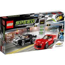 Lego Speed Champions Chevrolet Camaro Drag Race 75874 Big W