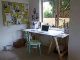 Simple Wooden Office Tables Sensational Space Home Ikea Workspace Inspiring Design Integrate