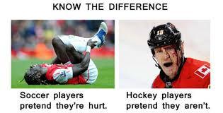 Soccer Hockey Meme - hockey vs soccer memes soccer memes pinterest hockey and
