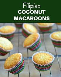 filipino coconut macaroons kawaling pinoy