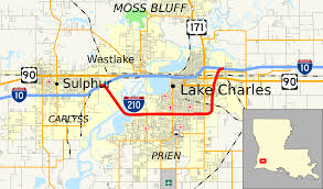 Map Of Texas And Louisiana by Interstate 210 Louisiana Wikipedia