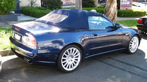 maserati spyder 2005 aussie old parked cars 2002 maserati 4200 gt spyder