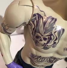 could joker u0027s tattoos hint at endgame moviepilot com