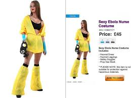 Sale Halloween Costumes Ebola Nurse Halloween Costumes Sale Causing Tempers