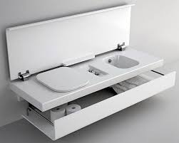 Fold Up Bathtub Small Space Design 15 Fold Up All In One Bathrooms Urbanist