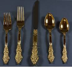 Cool Flatware by Gold Flatware Set A Stylish Aspect Of Dining Thediapercake Home