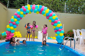 foto de pool party maria clara 5 anos praia pinterest