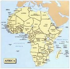Map Of Uganda Map Of Africa Uganda Deboomfotografie