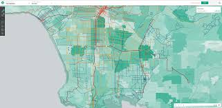 Map Of Los Angeles Zip Codes by How Public Transit Can Thrive In Car Obsessed Cities