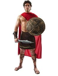 charades promo ch02042bv m spartan warrior costume size