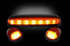 oem chevy cab lights 02 07 chevy gmc amber led cab lights dezert lighting llc
