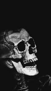 halloween wallpapers for phone free hd classic skull phone wallpaper 4448