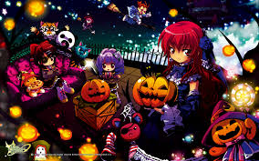 emil chronicle online halloween theme wallpapers update mmorpg