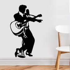 pas cher rock musique guitare home decor elvis presley vinyle