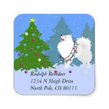american eskimo dog rescue colorado eskimo stickers zazzle