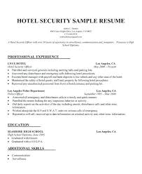 Information Security Manager Resume Security Supervisor Resume 19 Security Officer Resume Samples