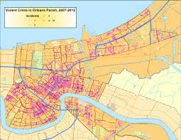 maps orleans post hurricane research maps