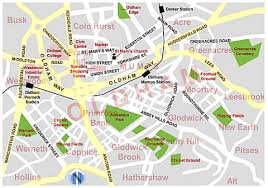 map of oldham oldham map