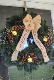 two it yourself diy christmas wreath with u0027merry christmas