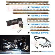 white led motorcycle light kit white classic led motorcycle light kit 8 piece lu mc w 8pc