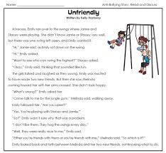 anti bullying story