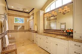 water fountains indoor bathroom transitional with cream cabinets