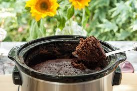 crock pot molten chocolate cake 8500 chocolate recipe