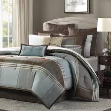 Luxury Comforter Sets California King Bed U0026 Bedding Block Pattern California King Comforter Sets For