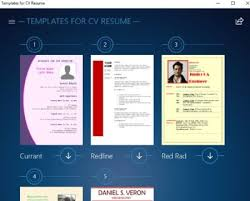 Resume Builder App Free Windows 10 Resume Builder App With Preset Resume Cv Templates