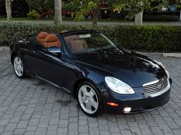 lexus sc 430 convertible 2004 lexus sc 430 fort myers florida for sale in fort myers fl