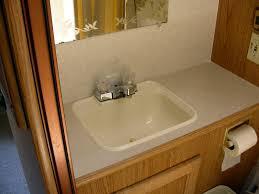 rv corner sink befon for