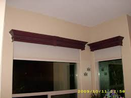 Faux Wood Cornice Valance Shutter Envy Llc Window Treatments For Phoenix Arizona
