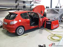 peugeot 206 new 206 rc turbo gt3076r
