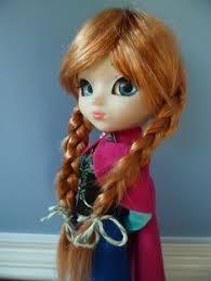 frozen anna elsa pullip beautiful elsa pullip doll