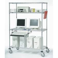 Wire Shelving Desk Wire Shelving Kaco Warehouse Outfitters