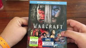 warcraft best buy exclusive blu ray unboxing youtube